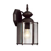 Livex Lighting Outdoor Basics 1 Light Outdoor Wall Lantern in Bronze 2007-07