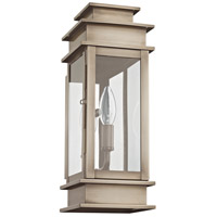 Livex Lighting Princeton 1 Light Outdoor Wall Lantern in Vintage Pewter 2013-29