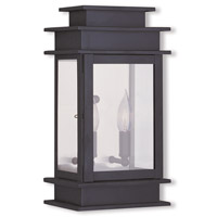 Livex Lighting Princeton 2 Light Outdoor Wall Lantern in Bronze 2014-07