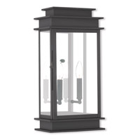 Princeton 2 Light 19 inch Black Outdoor Wall Lantern