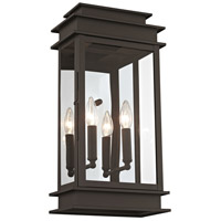 Princeton 2 Light 19 inch Bronze Outdoor Wall Lantern