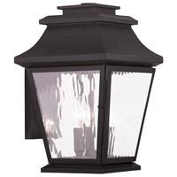 Livex 20235-07 Hathaway 3 Light 15 inch Bronze Outdoor Wall Lantern