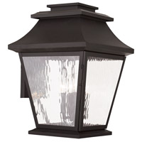 Livex 20240-07 Hathaway 4 Light 19 inch Bronze Outdoor Wall Lantern