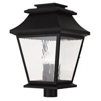 Livex 20244-04 Hathaway 4 Light 21 inch Black Outdoor Post Light
