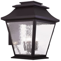 Livex Hathaway 5 Light Outdoor Wall Lantern in Bronze 20245-07
