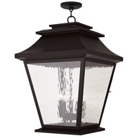 Livex Hathaway 5 Light Outdoor Chain Hang Lantern  in Bronze 20247-07