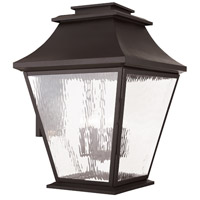 Livex Hathaway 6 Light Outdoor Wall Lantern in Bronze 20251-07