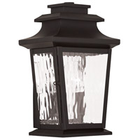 Livex Hathaway 2 Light Outdoor Wall Lantern in Bronze 20256-07