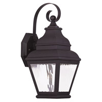 Livex Exeter 1 Light Outdoor Wall Lantern in Bronze 20261-07