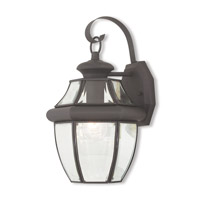 Monterey 1 Light 13 inch Bronze Outdoor Wall Lantern