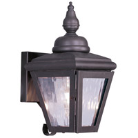 Livex Lighting Cambridge 1 Light Outdoor Wall Lantern in Bronze 2030-07