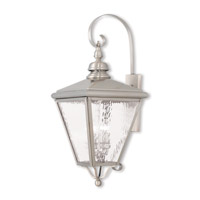 Livex 2036-91 Cambridge 4 Light 35 inch Brushed Nickel Outdoor Wall Lantern