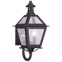 Livex Lighting Waldwick 2 Light Outdoor Wall Lantern in Bronze 2040-07