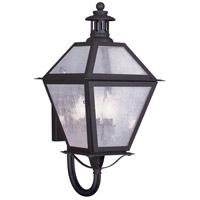 Livex Lighting Waldwick 3 Light Outdoor Wall Lantern in Bronze 2044-07