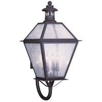 Livex Lighting Waldwick 4 Light Outdoor Wall Lantern in Bronze 2050-07