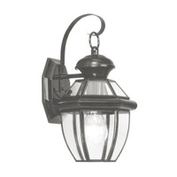 Livex Lighting Monterey 1 Light Outdoor Wall Lantern in Black 2051-04