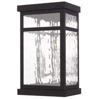 Livex 20522-04 Hopewell 2 Light 13 inch Black Wall Lantern