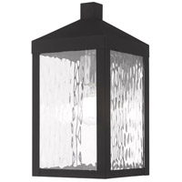 Livex 20532-04 Nyack 1 Light 13 inch Black Wall Lantern