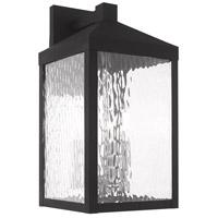 Livex 20534-04 Nyack 3 Light 18 inch Black Wall Lantern