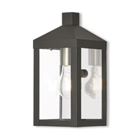 Nyack 1 Light 11 inch Black Outdoor Wall Lantern