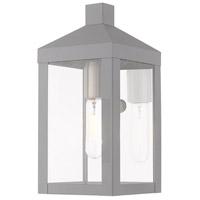 Livex 20581-80 Nyack 1 Light 11 inch Nordic Gray Wall Lantern