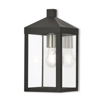 Nyack 1 Light 13 inch Black Outdoor Wall Lantern