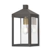 Nyack 1 Light 13 inch Bronze Outdoor Wall Lantern