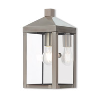 Nyack 1 Light 13 inch Brushed Nickel Outdoor Wall Lantern