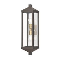 Nyack 2 Light 24 inch Bronze Outdoor Wall Lantern