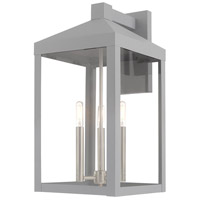 Livex Nordic Gray Outdoor Wall Lights