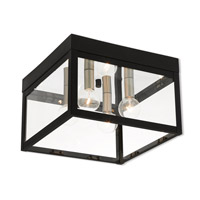 Nyack 4 Light 11 inch Black Outdoor Ceiling Mount
