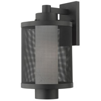 Livex 20683-14 Nottingham 1 Light 17 inch Textured Black Outdoor Wall Lantern