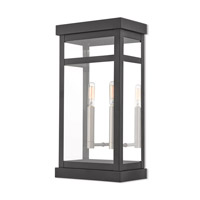 Livex 20704-04 Hopewell 2 Light 18 inch Black Outdoor Wall Lantern