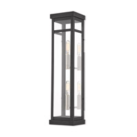 Livex 20706-04 Hopewell 2 Light 22 inch Black Outdoor Wall Lantern