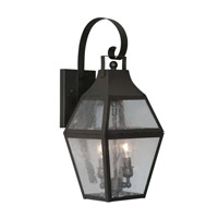 Livex Lighting Augusta 2 Light Outdoor Wall Lantern in Bronze 2081-07