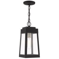 Oslo 1 Light 6 inch Black Pendant Lantern Ceiling Light