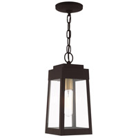 Oslo 1 Light 6 inch Bronze Pendant Lantern Ceiling Light