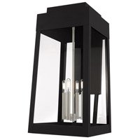 Oslo 4 Light 26 inch Black Wall Lantern