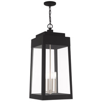 Oslo 4 Light 14 inch Black Pendant Lantern Ceiling Light