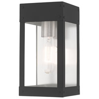 Livex 20871-76 Barrett 1 Light 10 inch Scandinavian Gray Wall Lantern