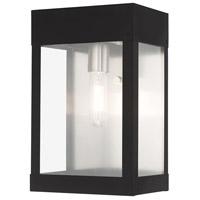 Livex 20872-04 Barrett 1 Light 13 inch Black Outdoor Wall Lantern