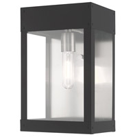 Livex 20872-76 Barrett 1 Light 13 inch Scandinavian Gray Wall Lantern