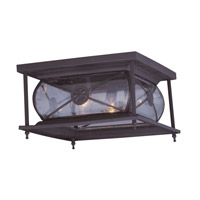 Livex Lighting Providence 2 Light Outdoor Ceiling Mount in Bronze 2090-07 alternative photo thumbnail