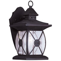 Livex 2091-07 Providence 1 Light 13 inch Bronze Outdoor Wall Lantern photo thumbnail