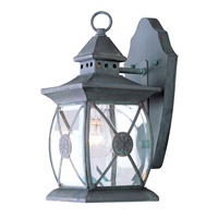 Providence 1 Light 13 inch Charcoal Outdoor Wall Lantern