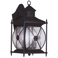 Livex Lighting Providence 2 Light Outdoor Wall Lantern in Bronze 2092-07