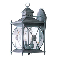 Livex Lighting Providence 2 Light Outdoor Wall Lantern in Charcoal 2092-61