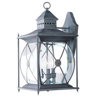 Livex Lighting Providence 3 Light Outdoor Wall Lantern in Charcoal 2093-61