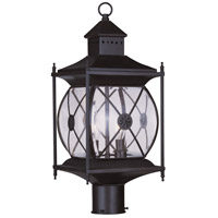 Livex Lighting Providence 2 Light Outdoor Post Head in Bronze 2094-07