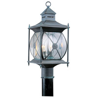 Livex Lighting Providence 2 Light Outdoor Post Head in Charcoal 2094-61